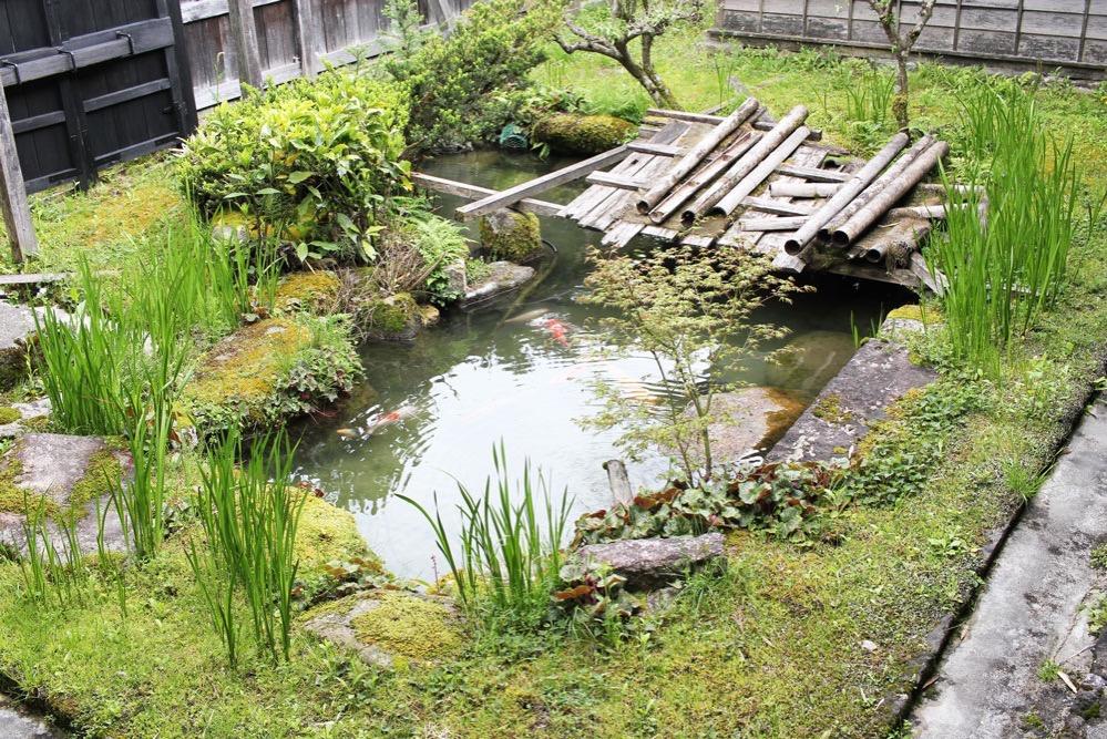 妻籠宿・本陣の中庭
