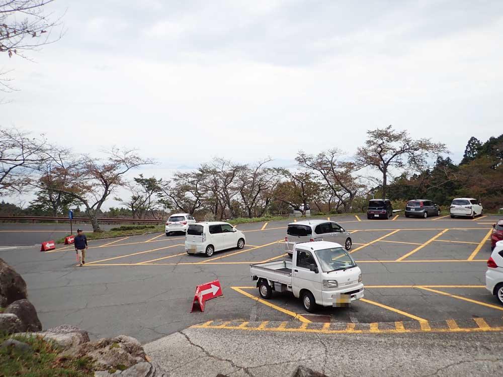 びわ湖バレイの駐車場