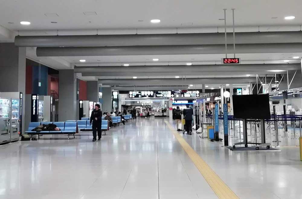 第一ターミナル2階
