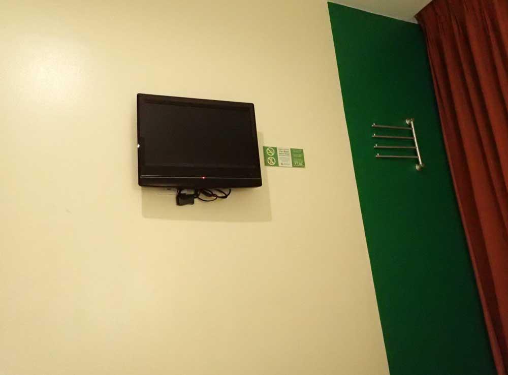 テレビもあります