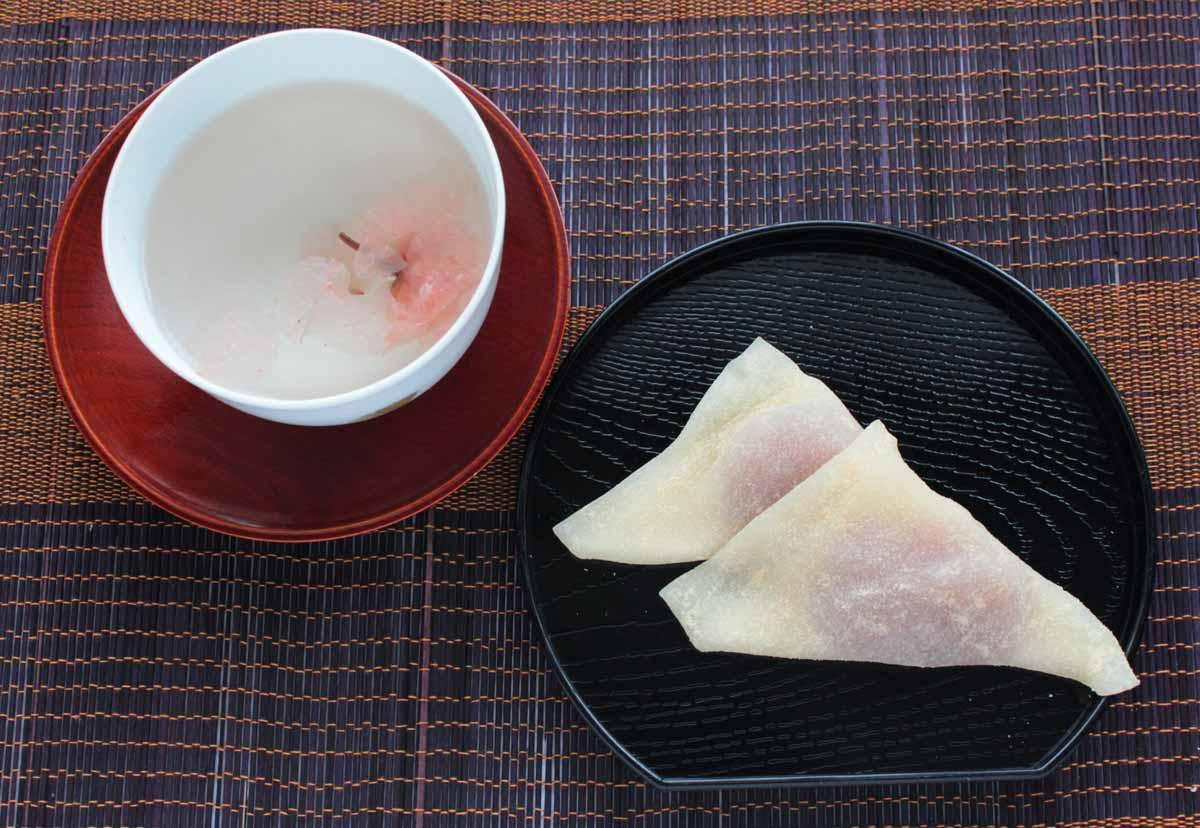 おたべ(桜餅風)