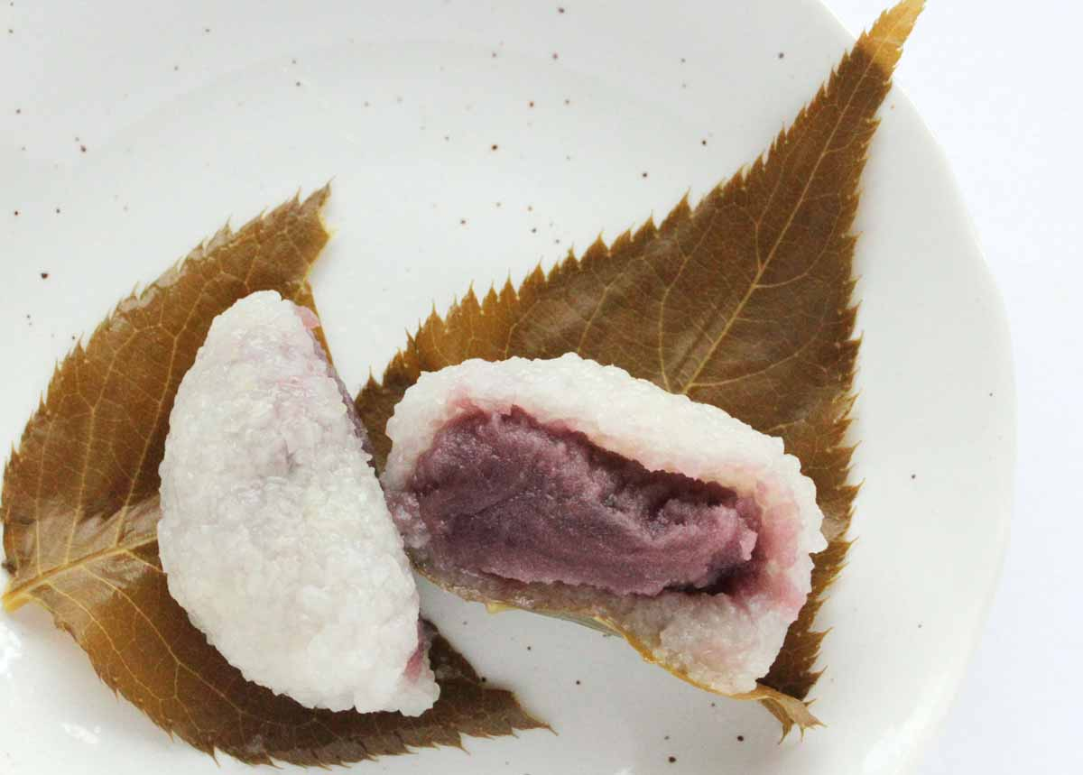 仙太郎の桜餅に入っているこしあん