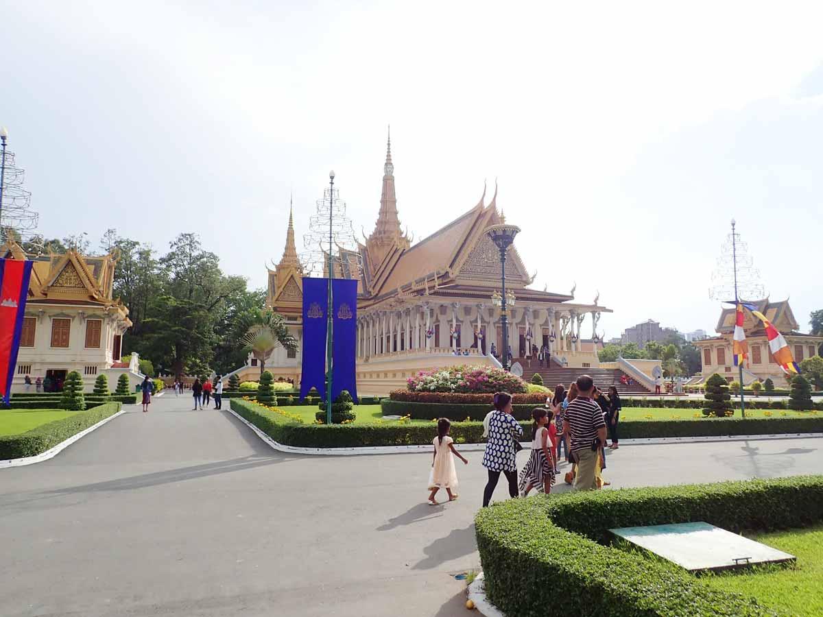 王宮のお庭