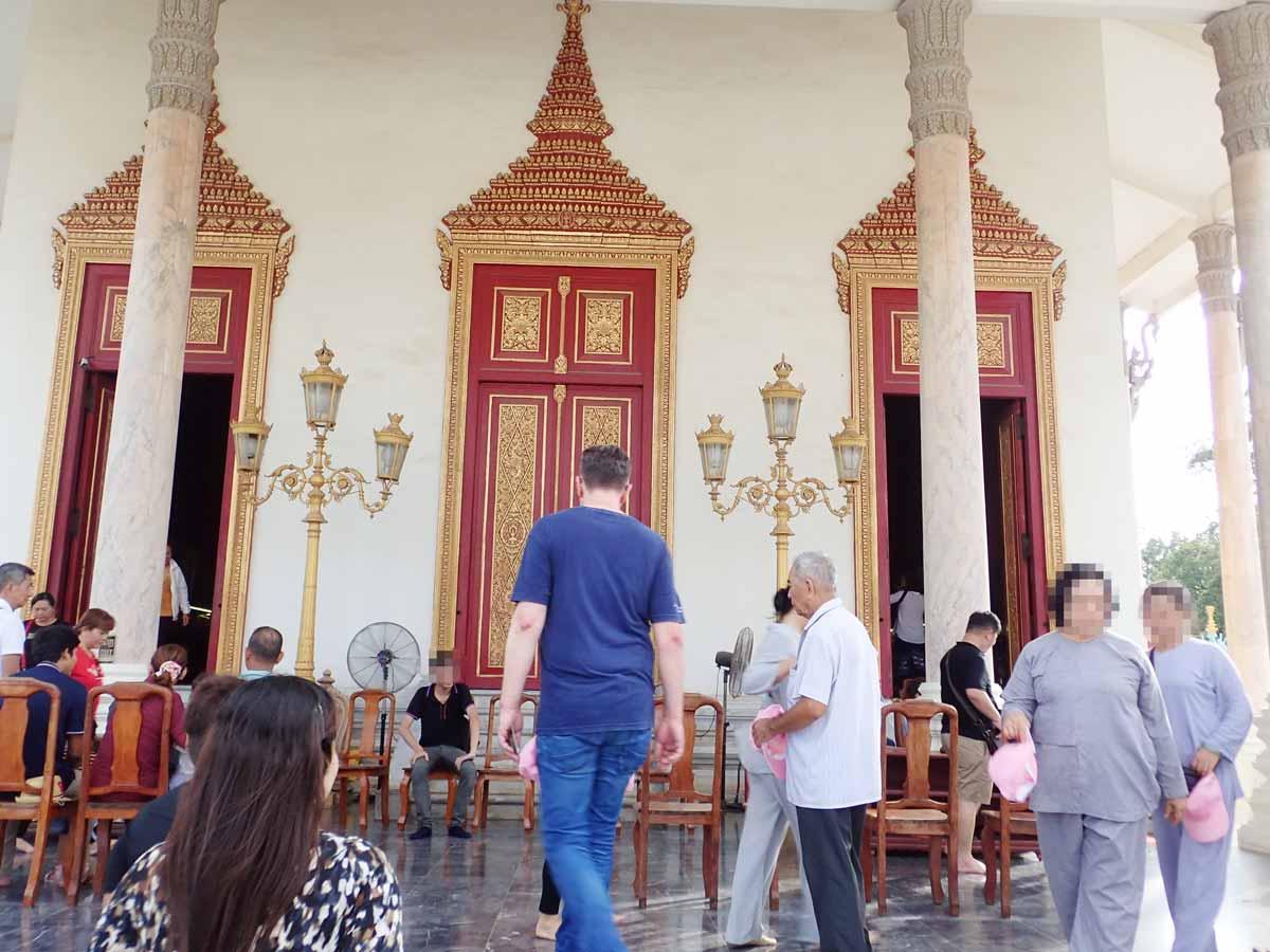 Wat Preah Keoの入口