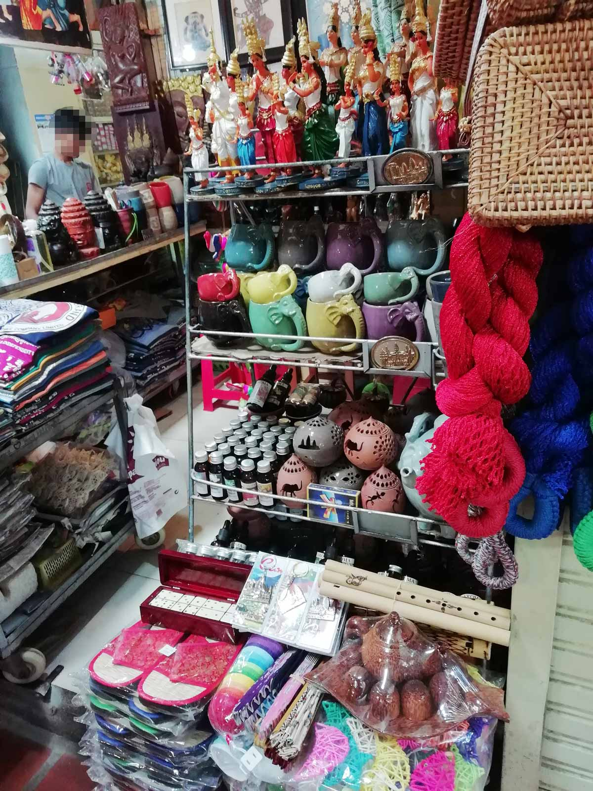 カンボジアの雑貨