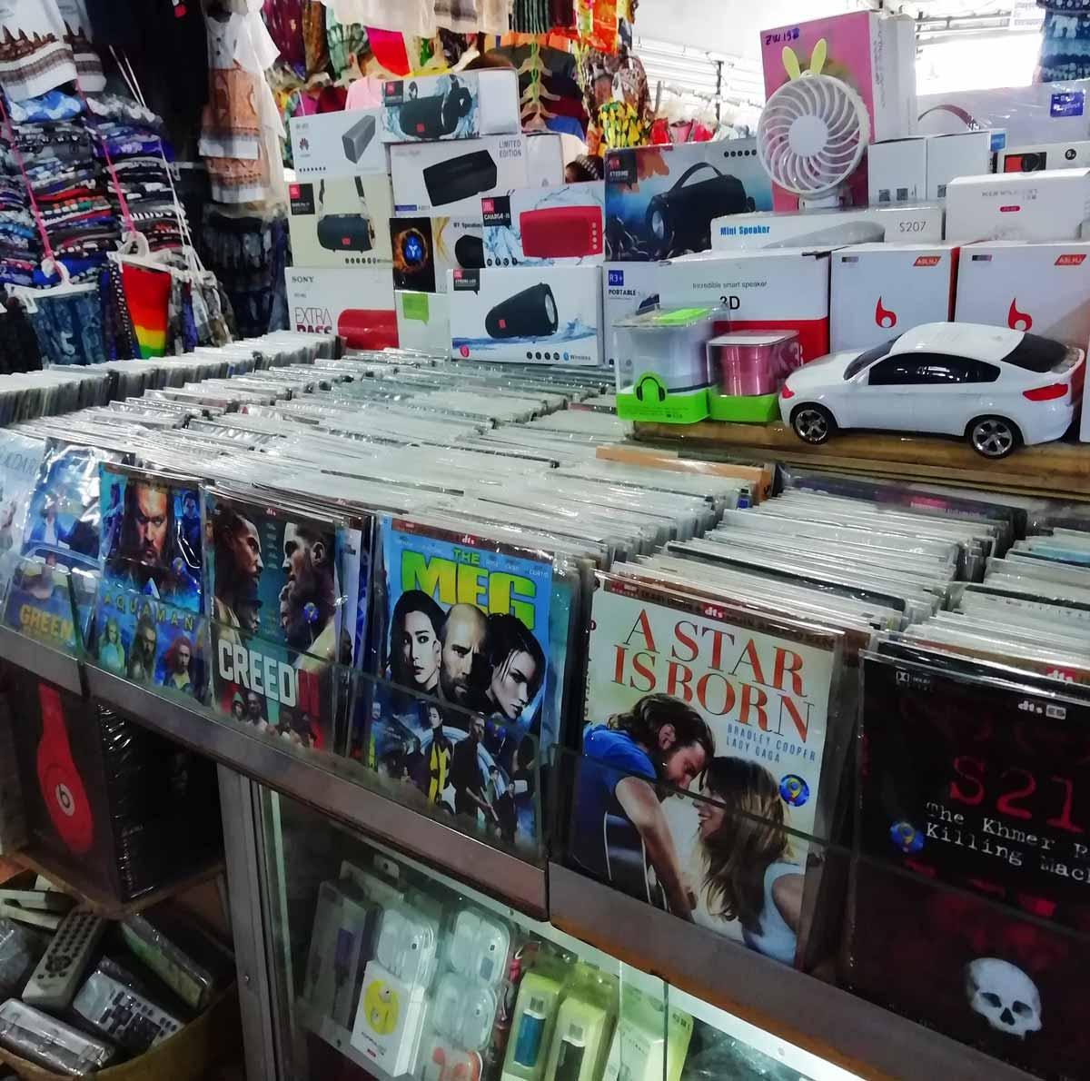 DVDや電化製品