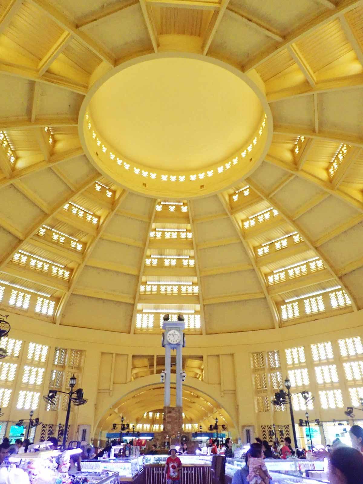 セントラルマーケットのドーム