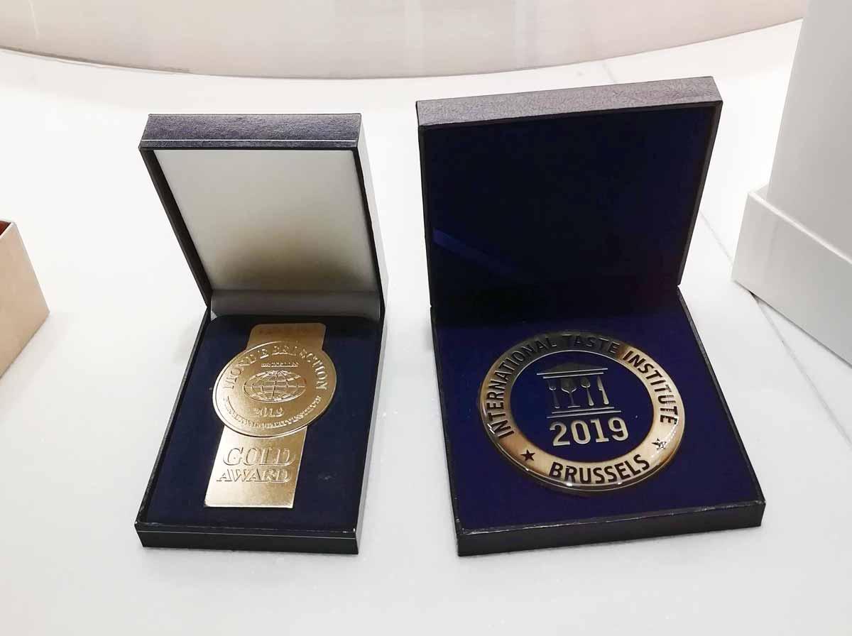 2019年のゴールドメダル