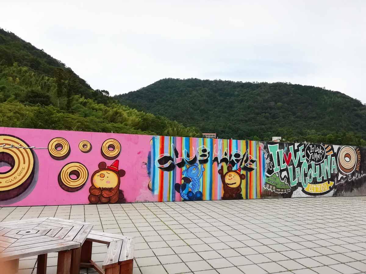 ラ コリーナの壁画