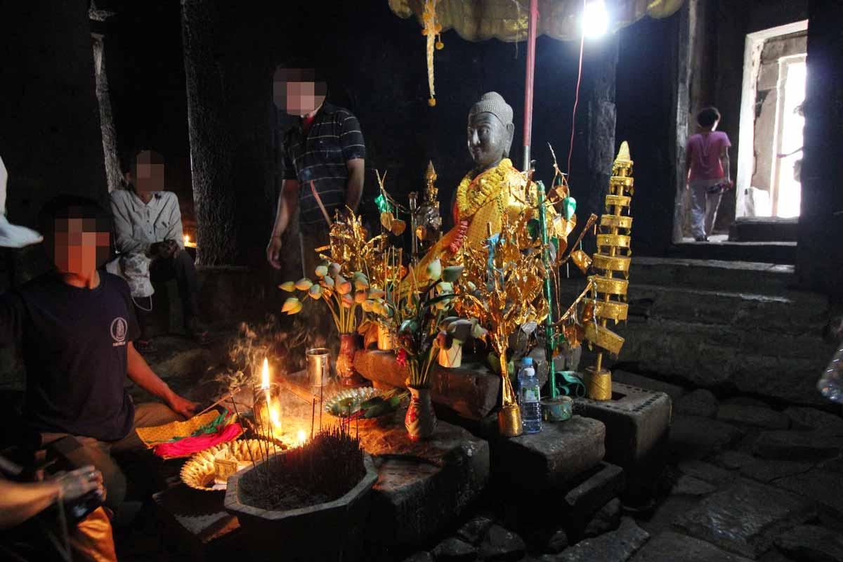 バイヨン寺院の中心