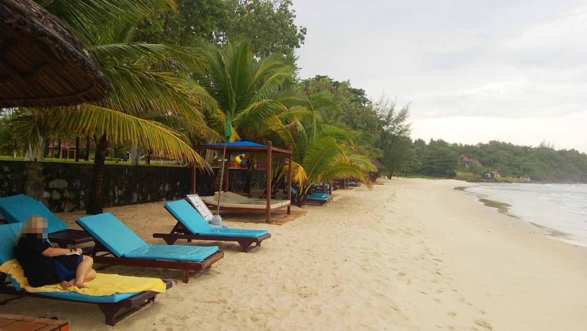 人が少ないプライベートビーチ