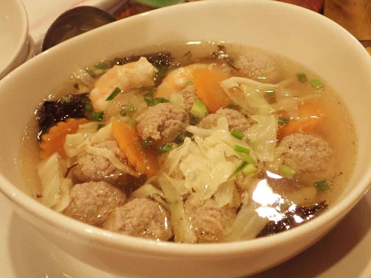 ソムローチーチャイ(海苔のスープ)