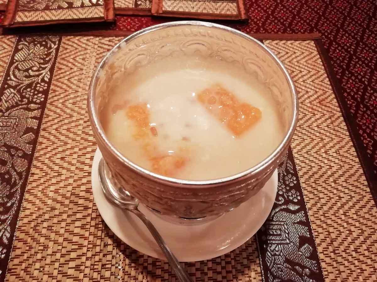 ボボーラパウ(かぼちゃのお粥)