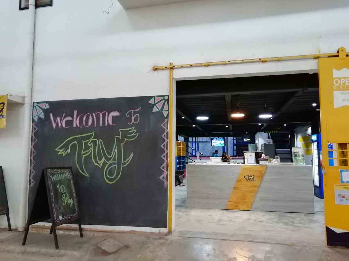 Fly Phnom Penhの入口