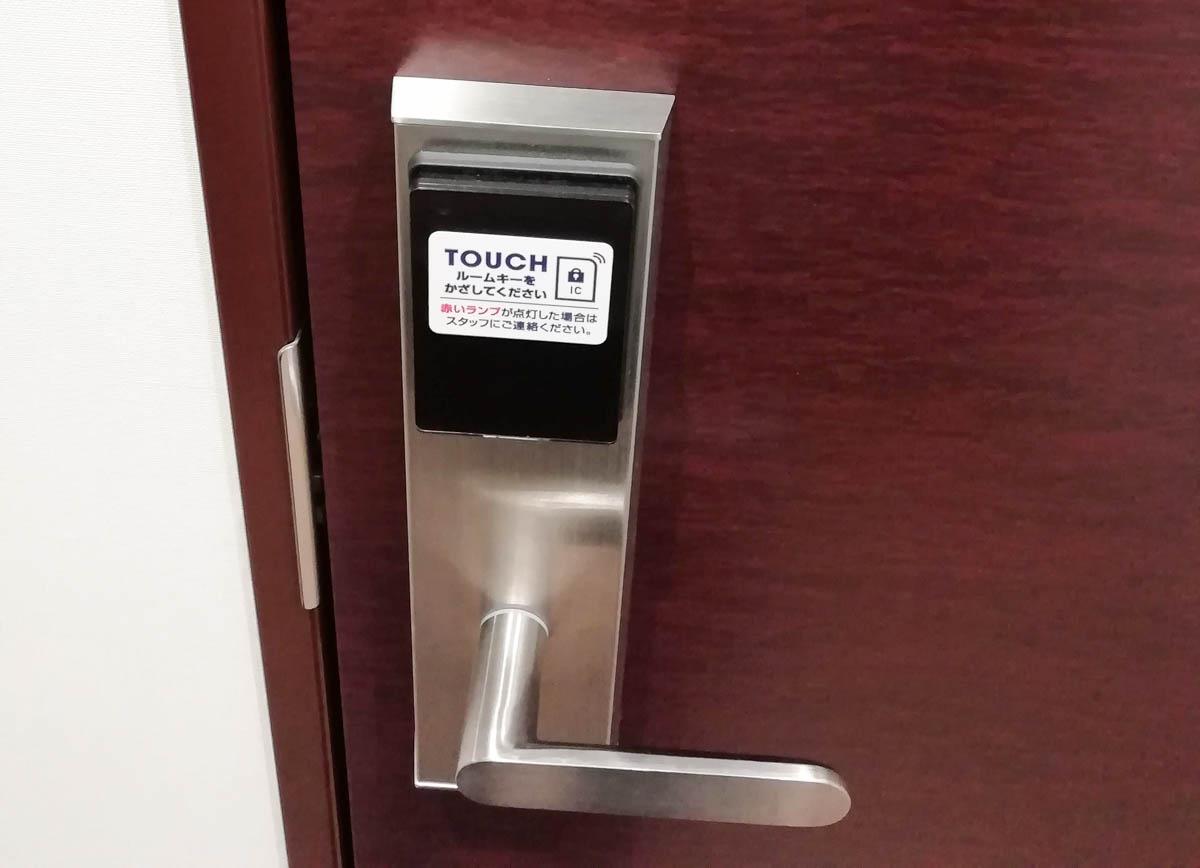 鍵はオートロック