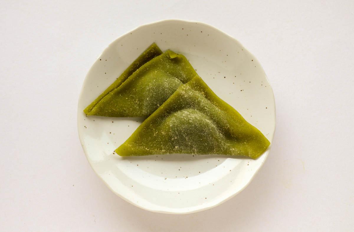 夕子(京都祇園抹茶チョコレート)の中身