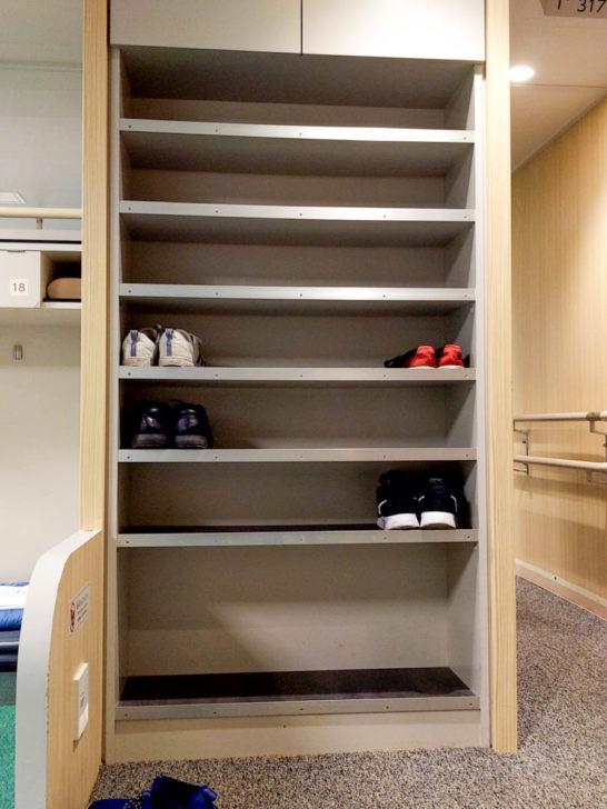 2等和室靴置き場