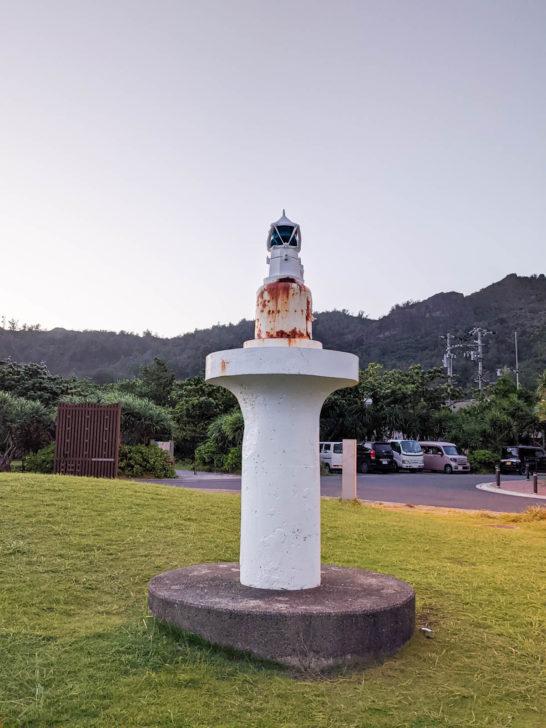 青灯台の上部