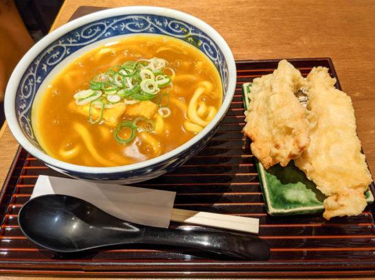 鶏天ぷらカレーうどん