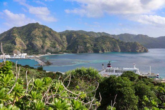 大神山公園の展望台からの景色