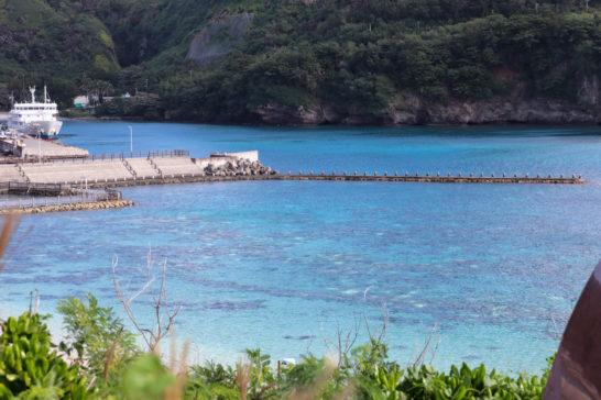 鮫ヶ﨑展望台からみる美しい海