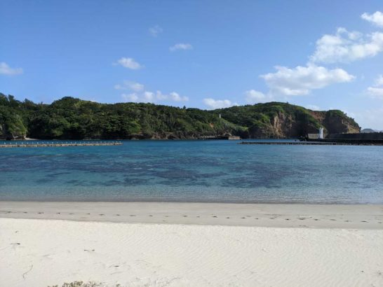 脇浜なぎさ公園のビーチ