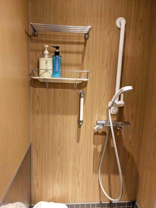 おがさわら丸のシャワールーム