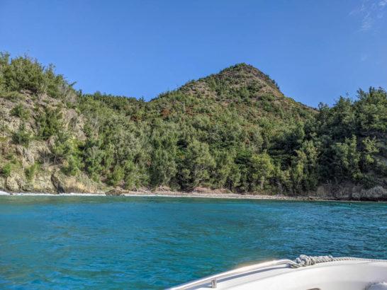 兄島の海岸