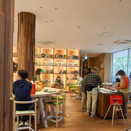 ロマンの森のカフェスペース