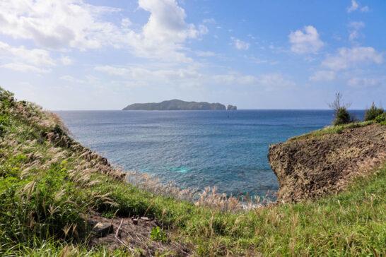 母島から見える向島