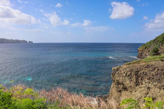 鮫ヶ崎展望台からの眺め