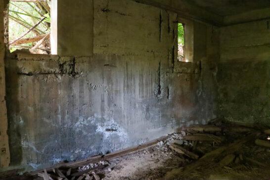 弾薬庫の内部