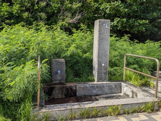 脇浜なぎさ公園のシャワー