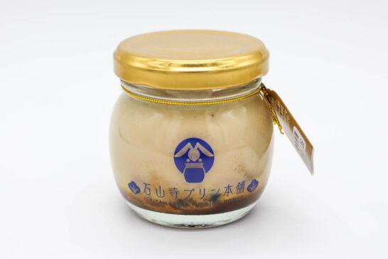 石山寺プリン(ほうじ茶)