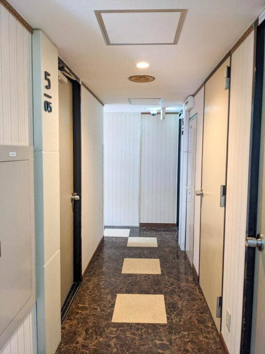 ホテルエンパイアイン新宿の廊下