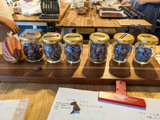 トイヤマチチョコレートのチョコレート
