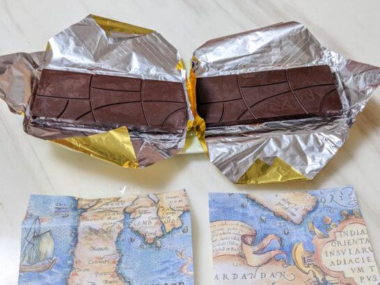 ベリーズとグアテマラの板チョコレート